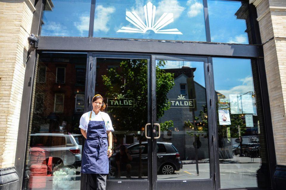 Chef Ruby Felix at Talde