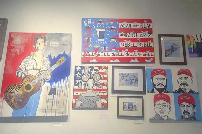 """Americana"" Art Show at LITM"