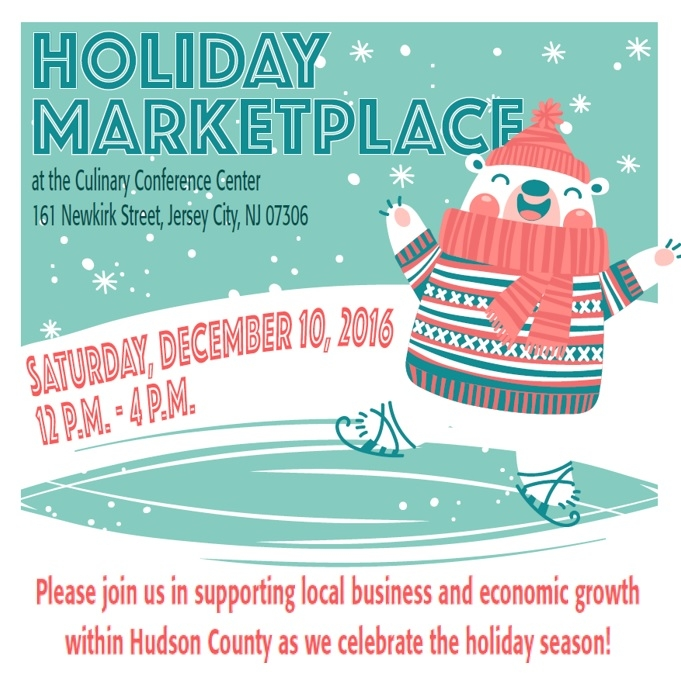Holiday Market at Hudson County Community College