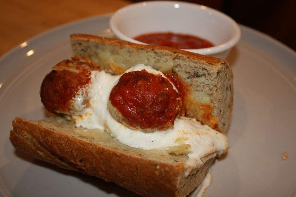 JC Dishes Lightened up: Rustique's Holly Sandwich