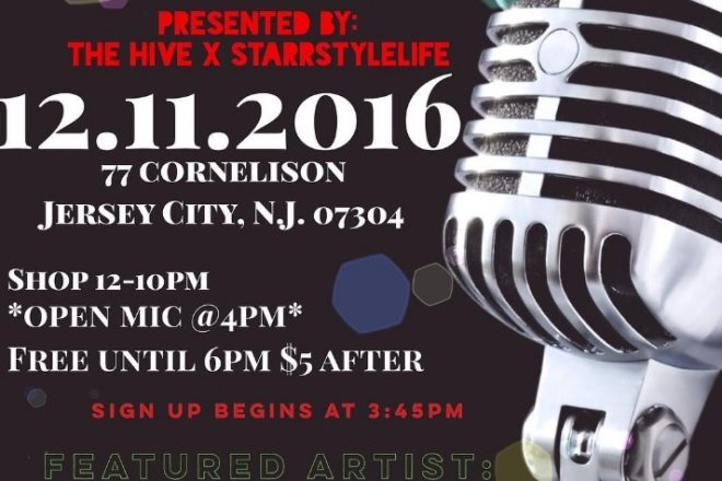 Holiday Gift Market and Open Mic at The Hive JC