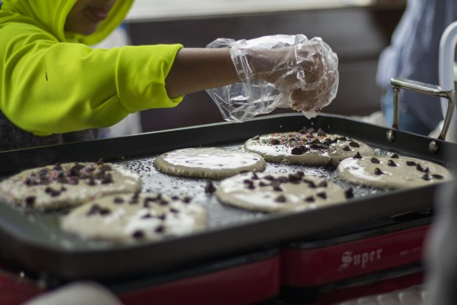 Pancake Breakfast at Hudson Montessori