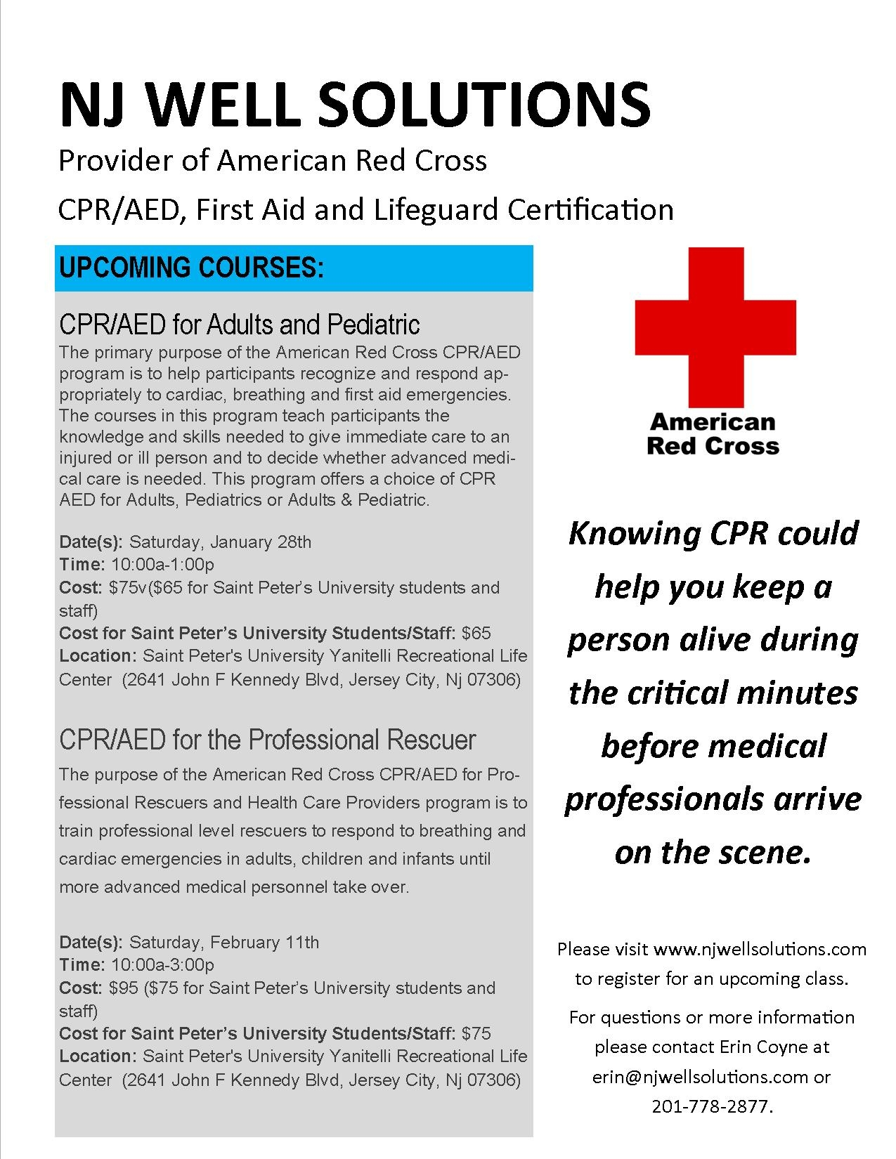 Red Cross Cpr Training Cost